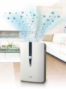 Oczyszczanie i nawilżanie powietrza w domu