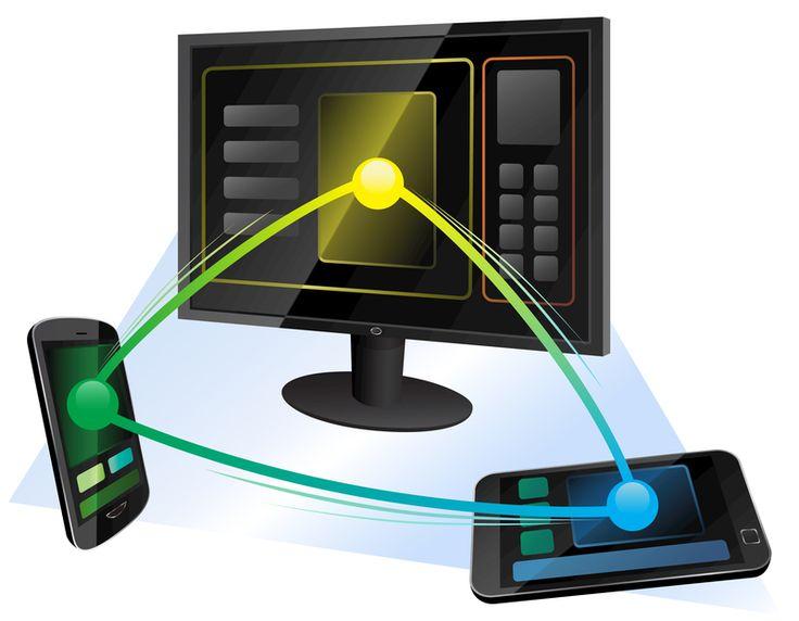 Telewizja w domu na tablecie i smartfonie