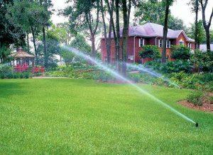 Nawadnianie trawnika - systemy nawadniające