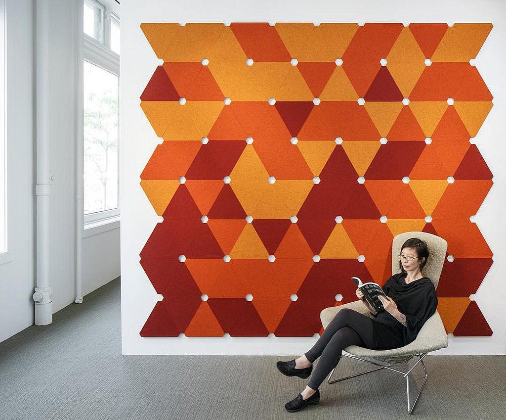 design - graficzna ściana