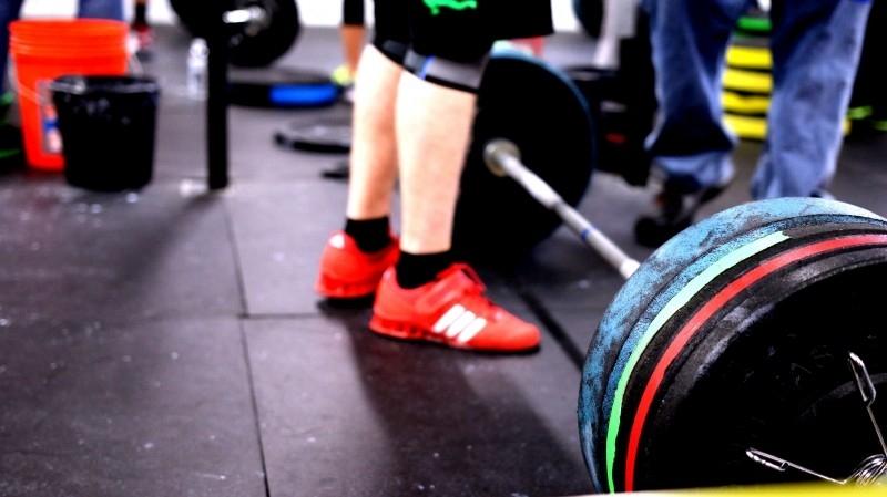 gumowa podłoga w siłowni
