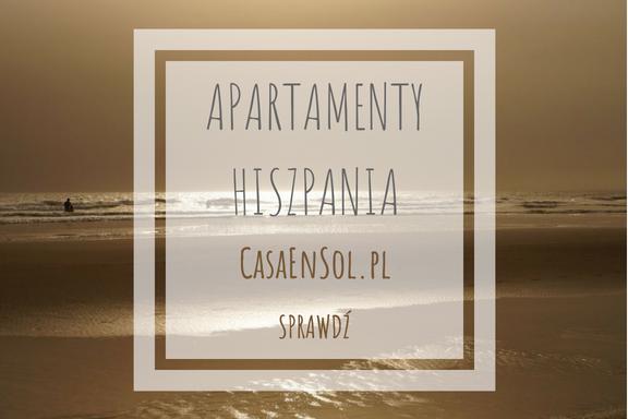 banner apartamenty w Hiszpanii